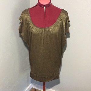 Eight Sixty gold tunic